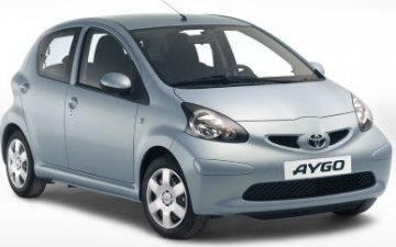 Rent  Group A: Toyota Aygo AC