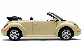 Rent  VW New Beetle Cabrio AC