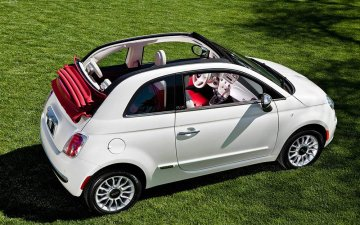Rent  Group F: FIAT 500 or Similar